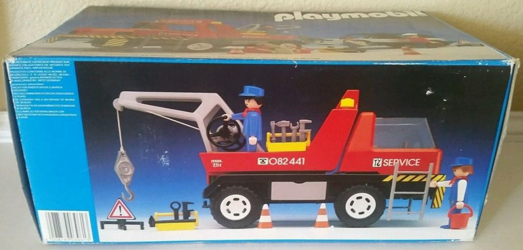 Playmobil 3961v1 - Red Tow Truck - Box