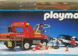 Playmobil - 3961v1 - Red Tow Truck