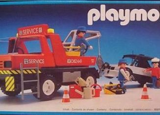 Playmobil - 3961v2 - Red Tow Truck