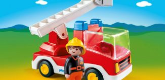 Playmobil - 6967 - Ladder Unit Fire Truck