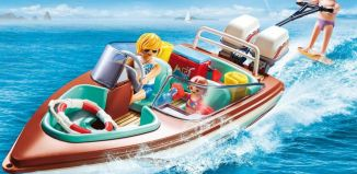 Playmobil - 9428 - Speedboat with Underwater Motor