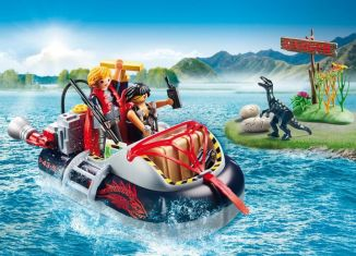 Playmobil - 9435 - Airboat with Underwater Motor