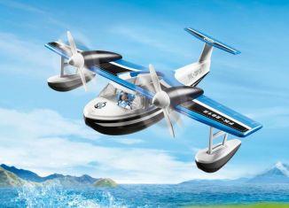 Playmobil - 9436 - Police seaplane