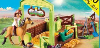 "Playmobil - 9478 - Horsebox ""Lucky and Spirit"""