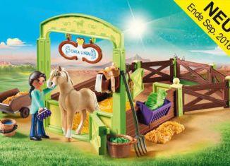 Playmobil - 9479 - Horsebox Pru and Chica Linda