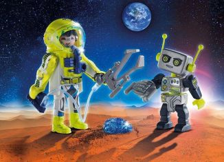 Playmobil - 9492 - Duo Pack Astronaut and Robot