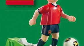 Playmobil - 9417 - Soccer Player Spain