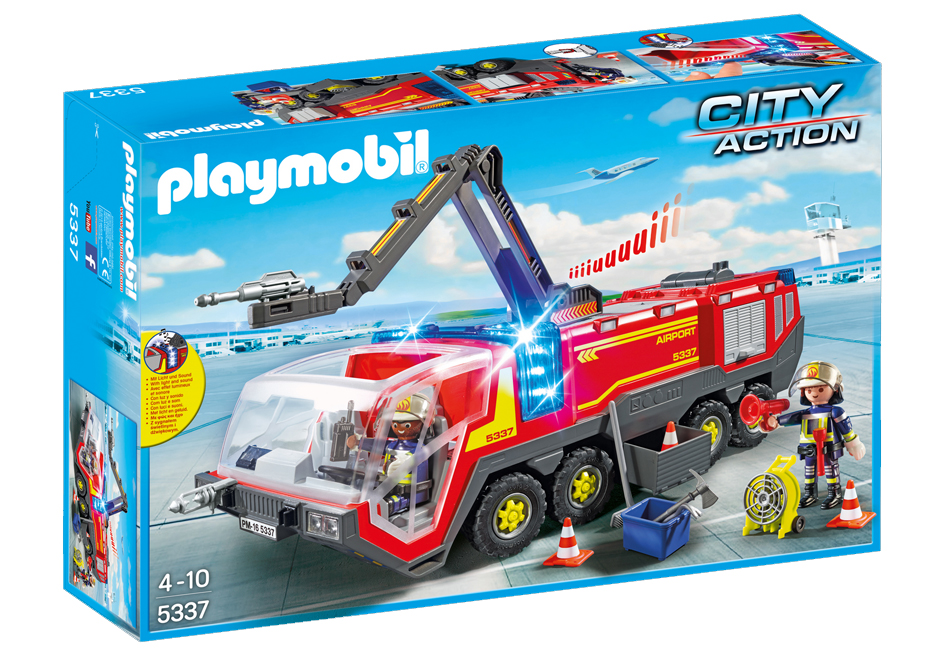 Playmobil 5337 - Crash tender  with light and sound - Box