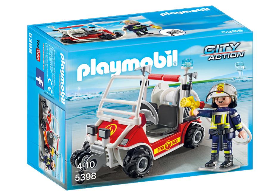 Playmobil 5398 - Firemen Kart - Box