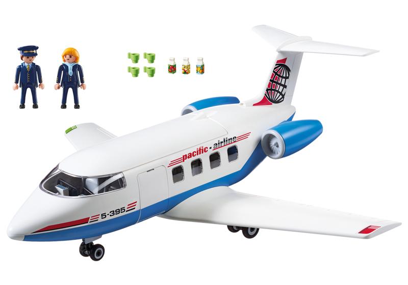 Playmobil 5395 - Passenger Plane - Back