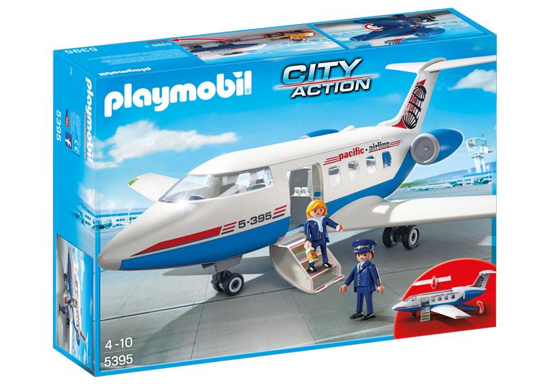 Playmobil 5395 - Passenger Plane - Box