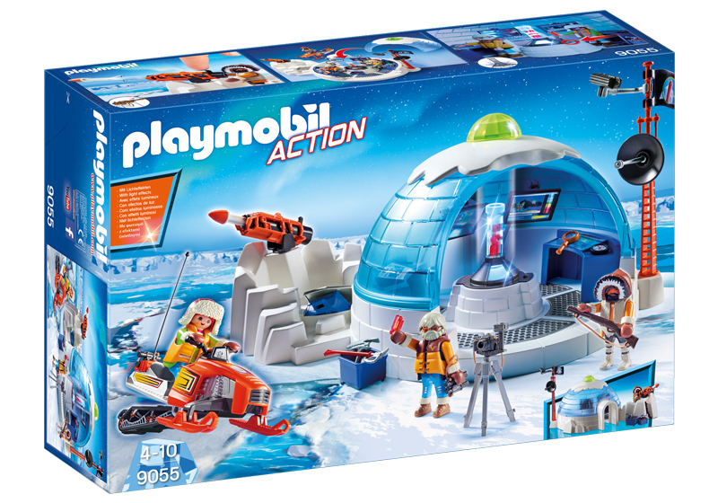 Playmobil 9055 - Arctic Expedition Headquarters - Box