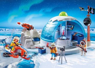 Playmobil - 9055 - Arctic Expedition Headquarters