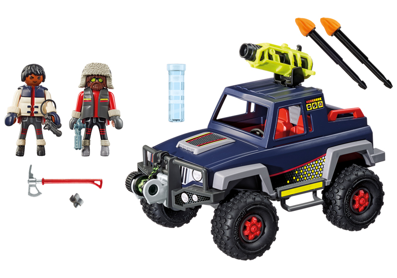 Playmobil 9059 - Ice-Pirate Truck - Back