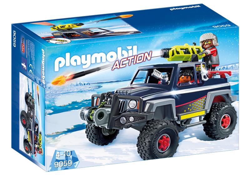 Playmobil 9059 - Ice-Pirate Truck - Box