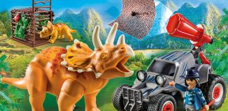 Playmobil - 9434 - Enemy Quad with Triceratops