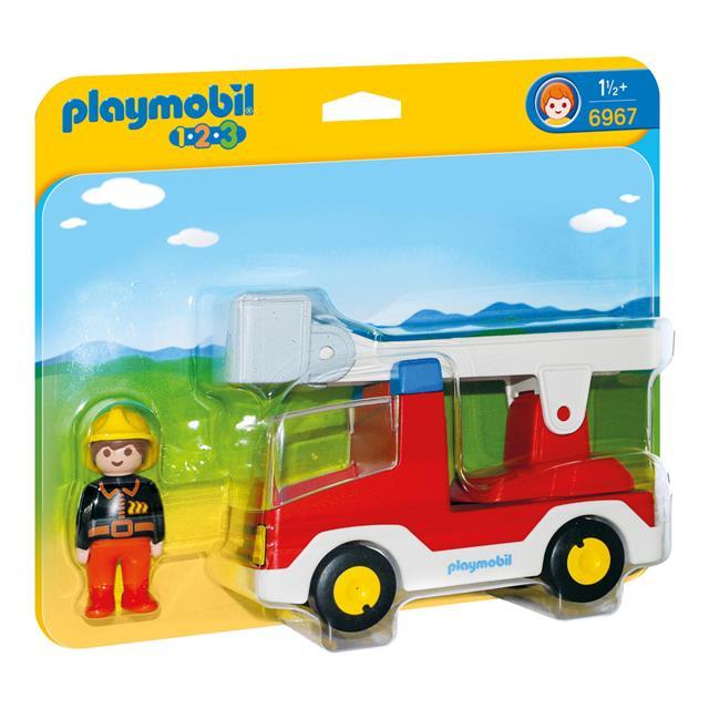 Playmobil 6967 - Ladder Unit Fire Truck - Box
