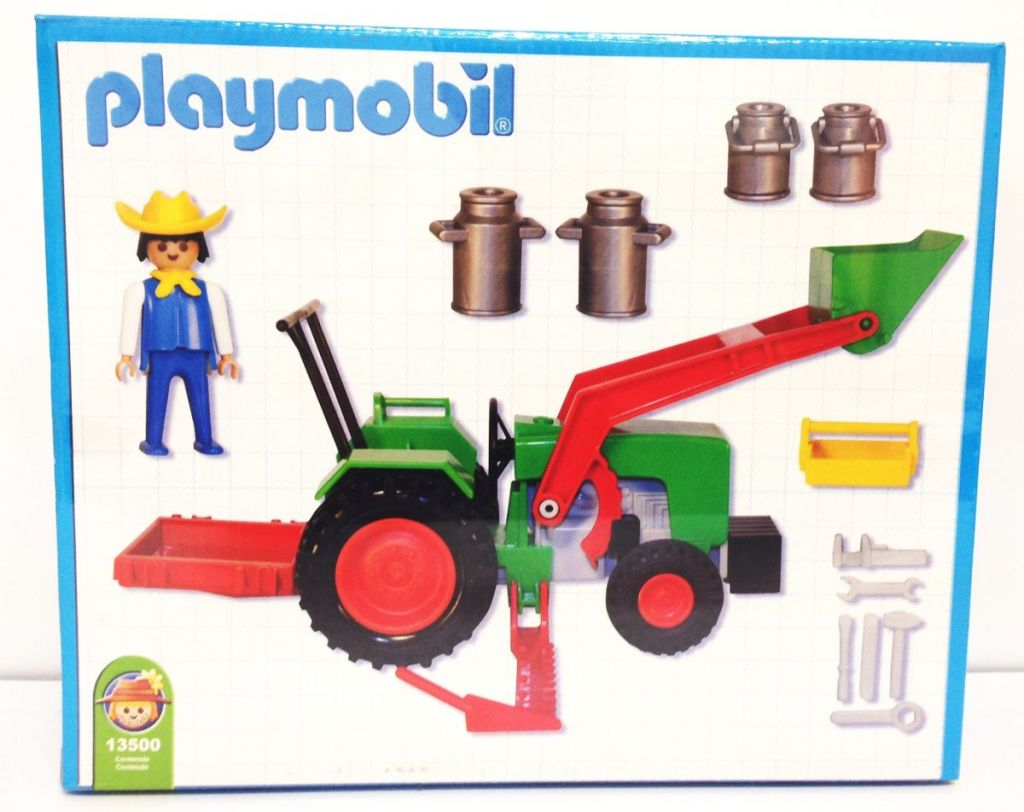 Playmobil 13500-ant - Farmer and Tractor - Box