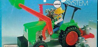 Playmobil - 3500v1-ant - Green Tractor & Farmer