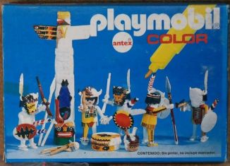 Playmobil - 3620-ant - Indians / Totem Pole