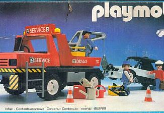 Playmobil - 3961-ant - Red Tow Truck