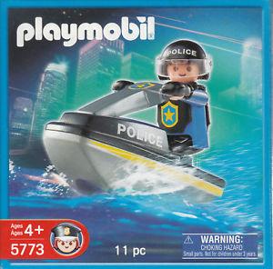 Playmobil - 5773 - Special SWAT Team Police Jetski