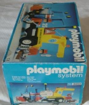 Playmobil 3453-esp - Blue/Yellow Tow Truck - Box