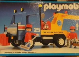 Playmobil - 3453-esp - Blue/Yellow Tow Truck