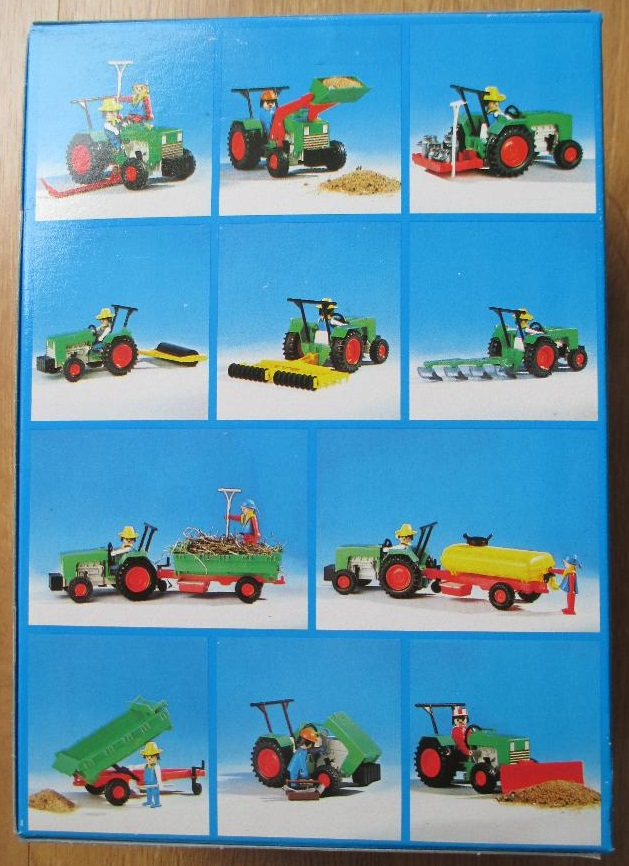 Playmobil 3500-esp - Green Tractor & Farmer - Box
