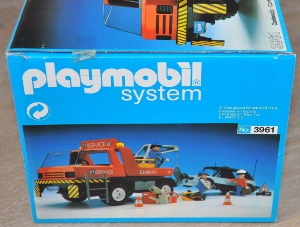 Playmobil 3961v2-esp - Red Tow Truck - Box