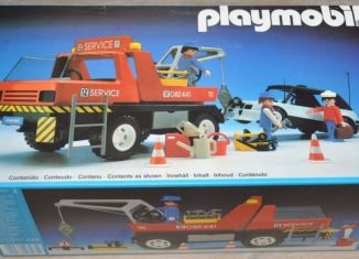 Playmobil - 3961v2-esp - Red Tow Truck