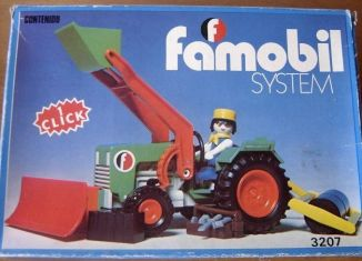 Playmobil - 3207-fam - Green Tractor & Farmer