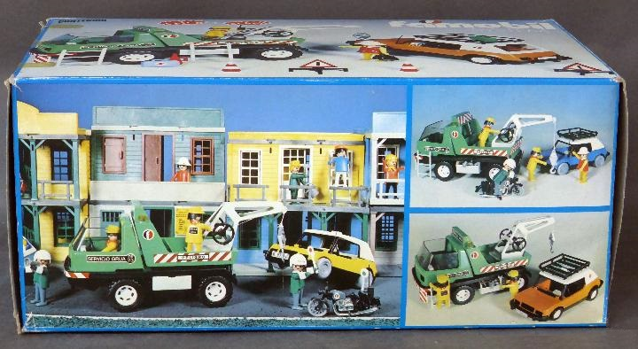 Playmobil 3473-fam - Tow Truck - Box