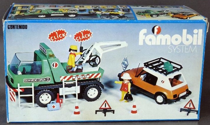 Playmobil - 3473-fam - Tow Truck