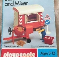 Playmobil - 1738-pla - Builder's Caravan and Mixer