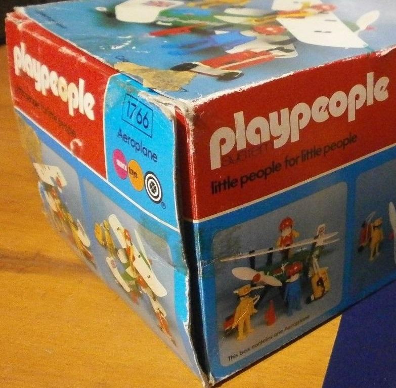 Playmobil 1766-pla - Biplane - Box