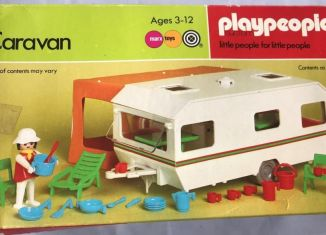 Playmobil - 1788-pla - Caravan / orange awning