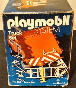 Playmobil 009-sch - Truck Set - Box