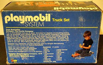 Playmobil 009-sch - Truck Set - Back