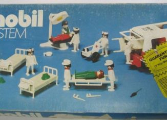 Playmobil - 054-sch - Doctor &Nurse Super Deluxe Set