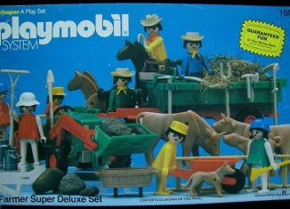 Playmobil - 1504v1-sch - Farmer Super Deluxe Set