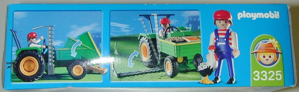 Playmobil 3325-usa - Farm Tractor - Box