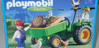 Playmobil - 3325-usa - Farm Tractor