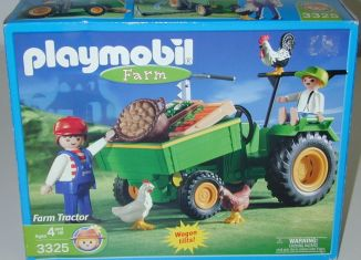 Playmobil - 3325-usa - Farm Tractor