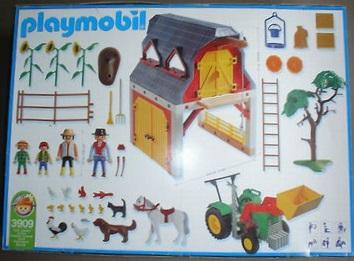 Playmobil 3909v2-usa - Set Farm Work - Box