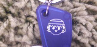 Playmobil - XXXX - Commercial Porte-puce porte-clés