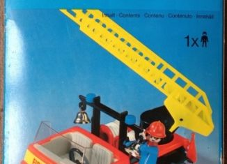 Playmobil - 3236s1v3 - Fire truck