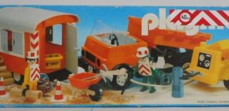 Playmobil - 3474v2 - Road Workers with Truck and Trailer