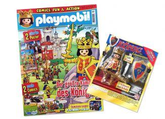 Playmobil - R028-30790484-ESP - REY DE LOS CABALLEROS DEL LEóN (REVISTA Nº 28)-esp - King of the Lion's Knigths