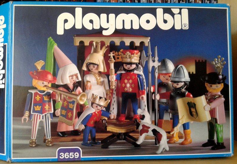 Playmobil 3659 - King and His Court - Box